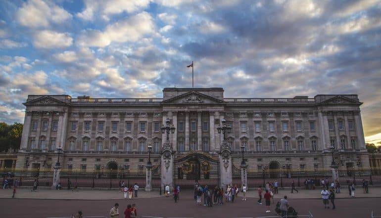 Image of Buckingham Palace representing the new era for UK data protection based on the Queen's speech