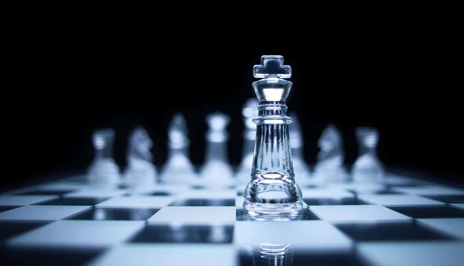 Image of chess board with the king chess piece leading representing the data protection officer (DPO) in Philippines