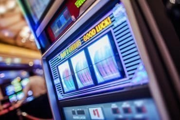 Image of jackpot machine signifying the new security scare of jackpotting attacks on ATM machines