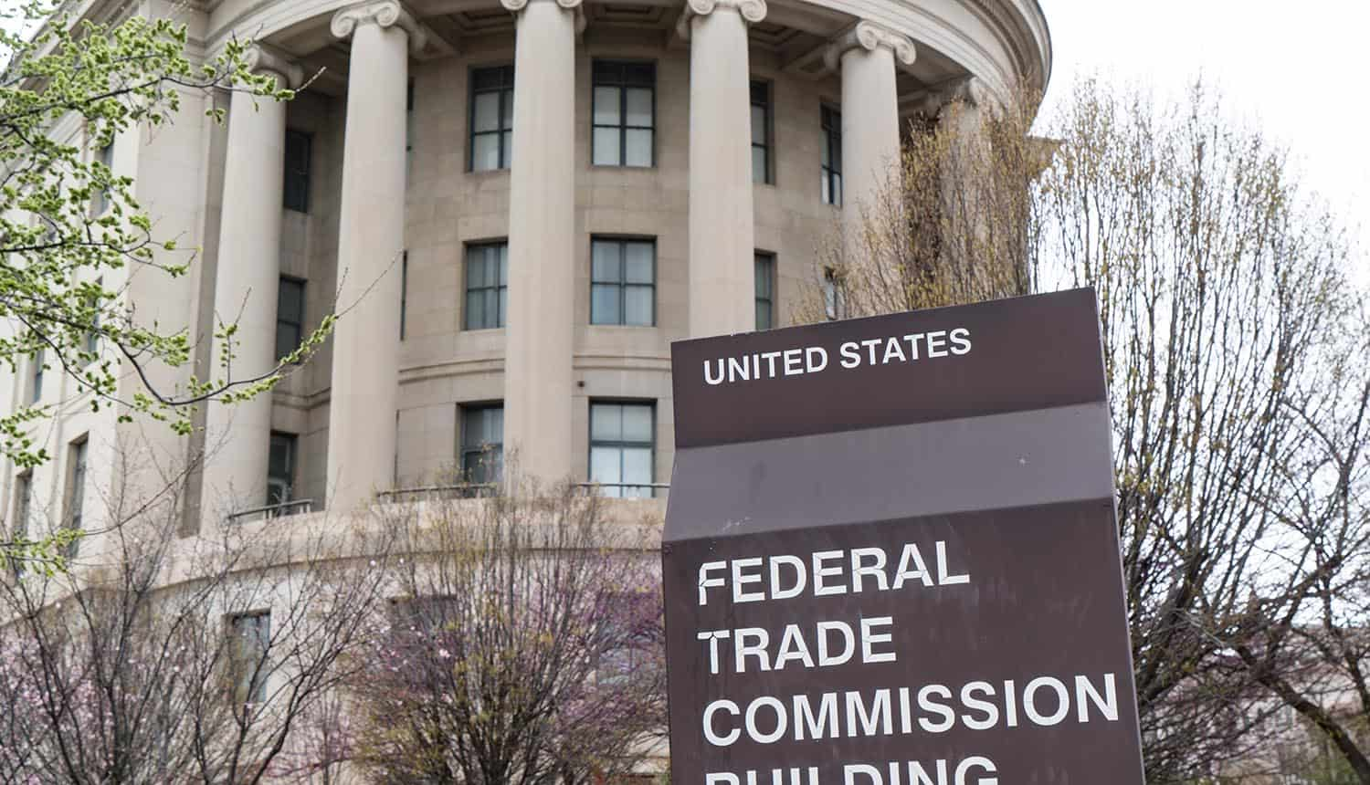 United States Federal Trade Commission (FTC) building in Washington, DC