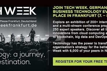 Germany's Largest Business Technology Event Taking Place in Frankfurt (Nov 7-8)