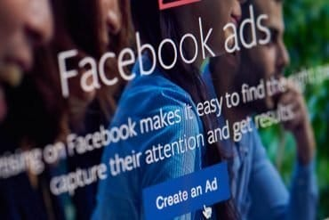Facebook page for creating ads showing the privacy concern with the Facebook Portal device