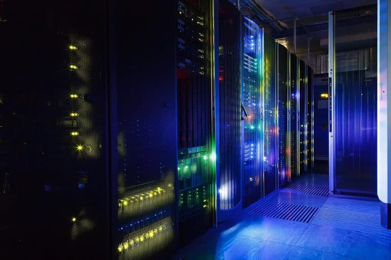 View of mainframe in data center showing cyber vulnerabilities uncovered by GAO audit