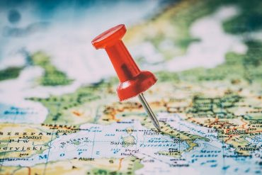 Pin on a map showing how location data is big business