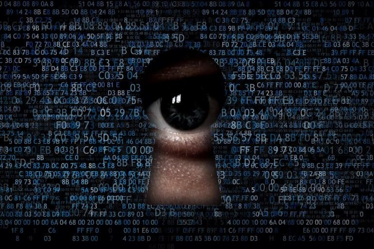 Hacking data, spying on the Internet and collecting information showing what tech industry leaders have to say about Data Privacy Day