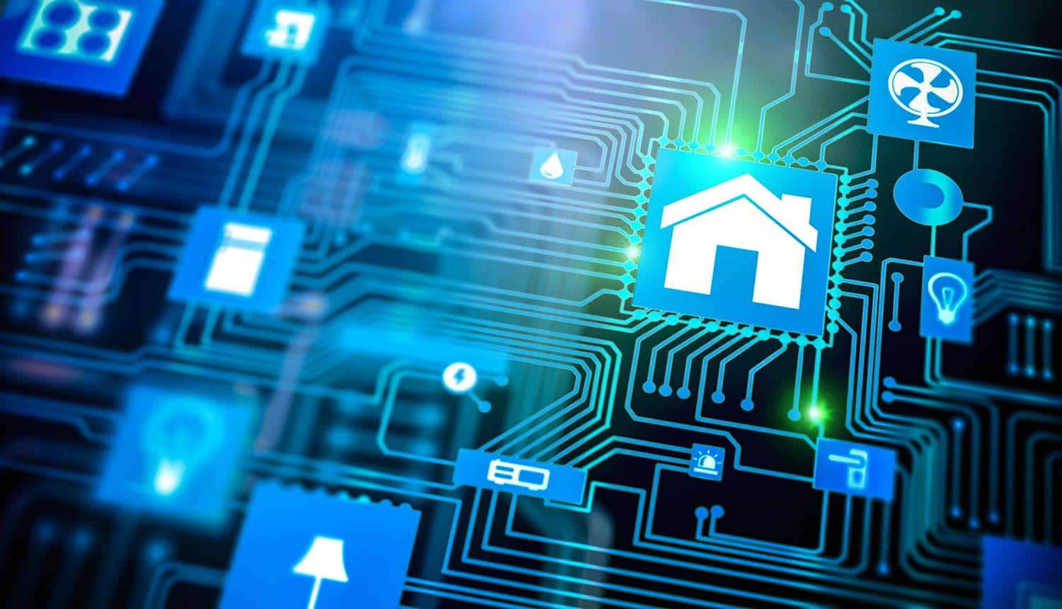 Smart home concept showing IoT security and privacy flaws in smart devices