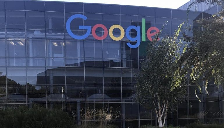 Image of Google headquarters showing privacy practices as a risk in Alphabet annual report