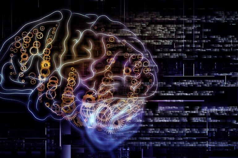 Arrangement of outlines of human brain technological and fractal elements on the subject of artificial intelligence as a cybersecurity solution