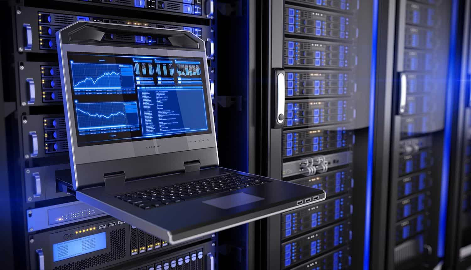 Console on data center rack showing new cyber security directive which requires U.S. federal agencies to patch vulnerabilities twice as fast