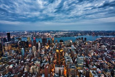 New York evening landscape showing the newly proposed New York Privacy Act which could be tougher than CCPA