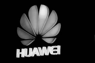 Huawei company logo showing addressing cyber threats should be a bigger concern than Huawei being a vendor in 5G