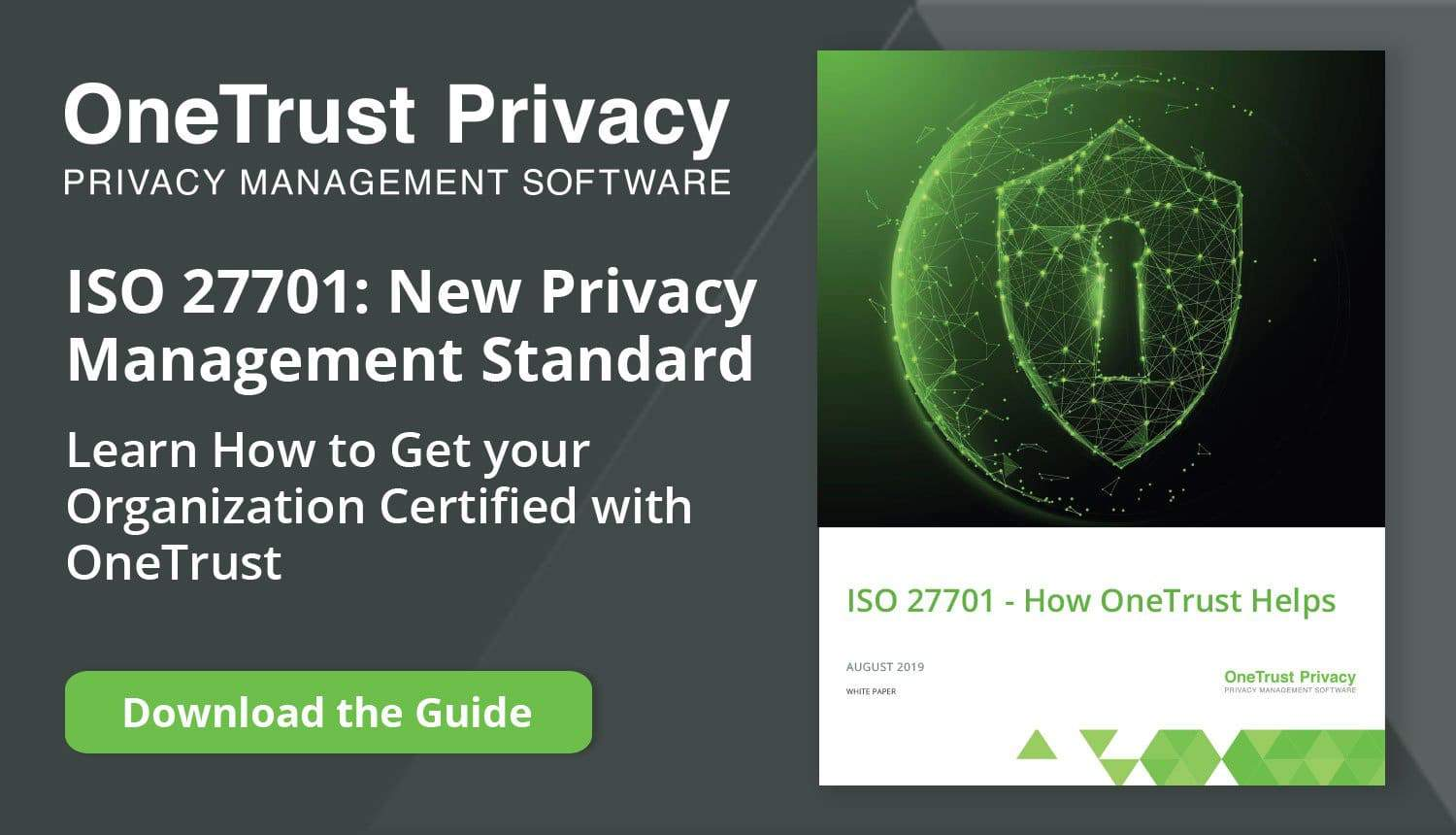 OneTrust - ISO27701 Guide