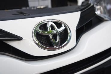 Toyota car logo showing Toyota subsidiary's loss of $37 million in BEC scam