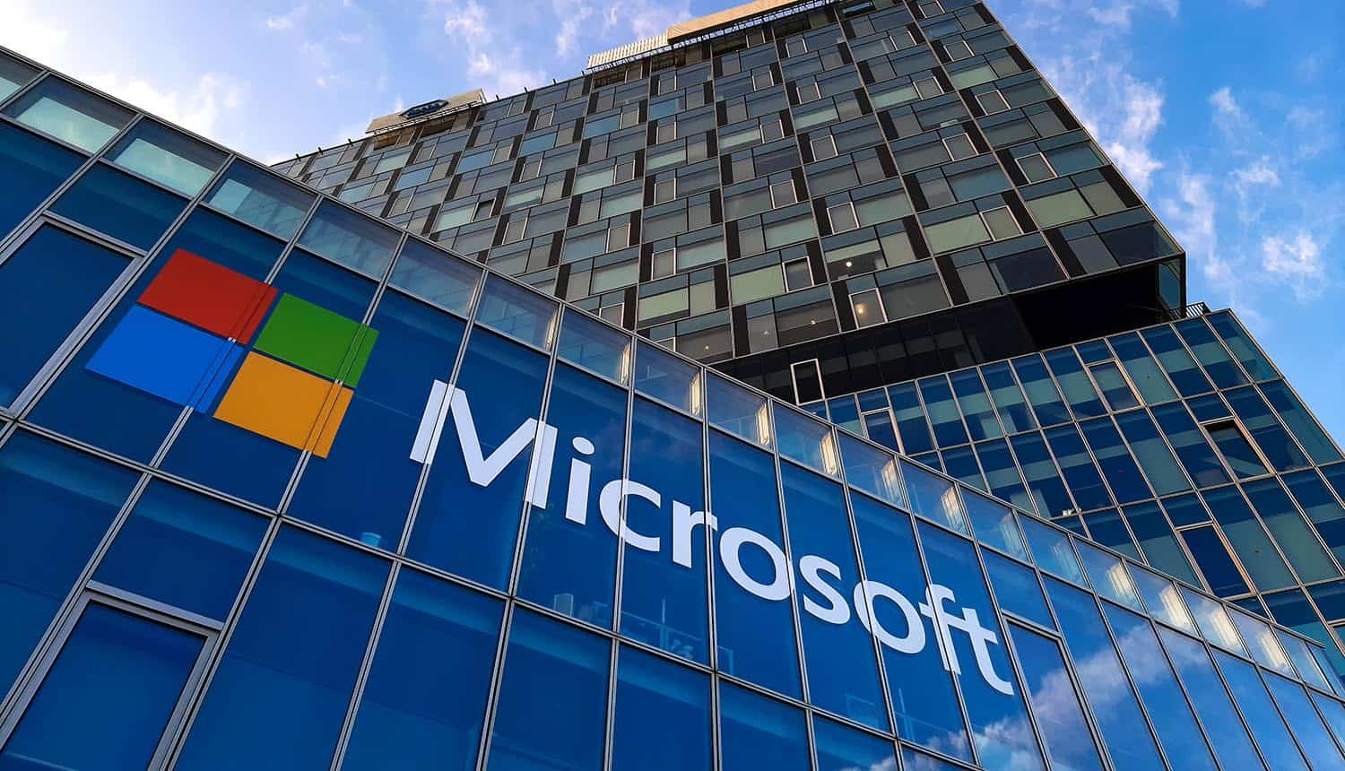 View of Microsoft office showing support behind #CCPA and tougher privacy laws