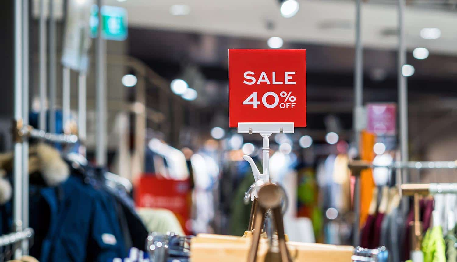 Department store for fashion showing online threats during holiday shopping season