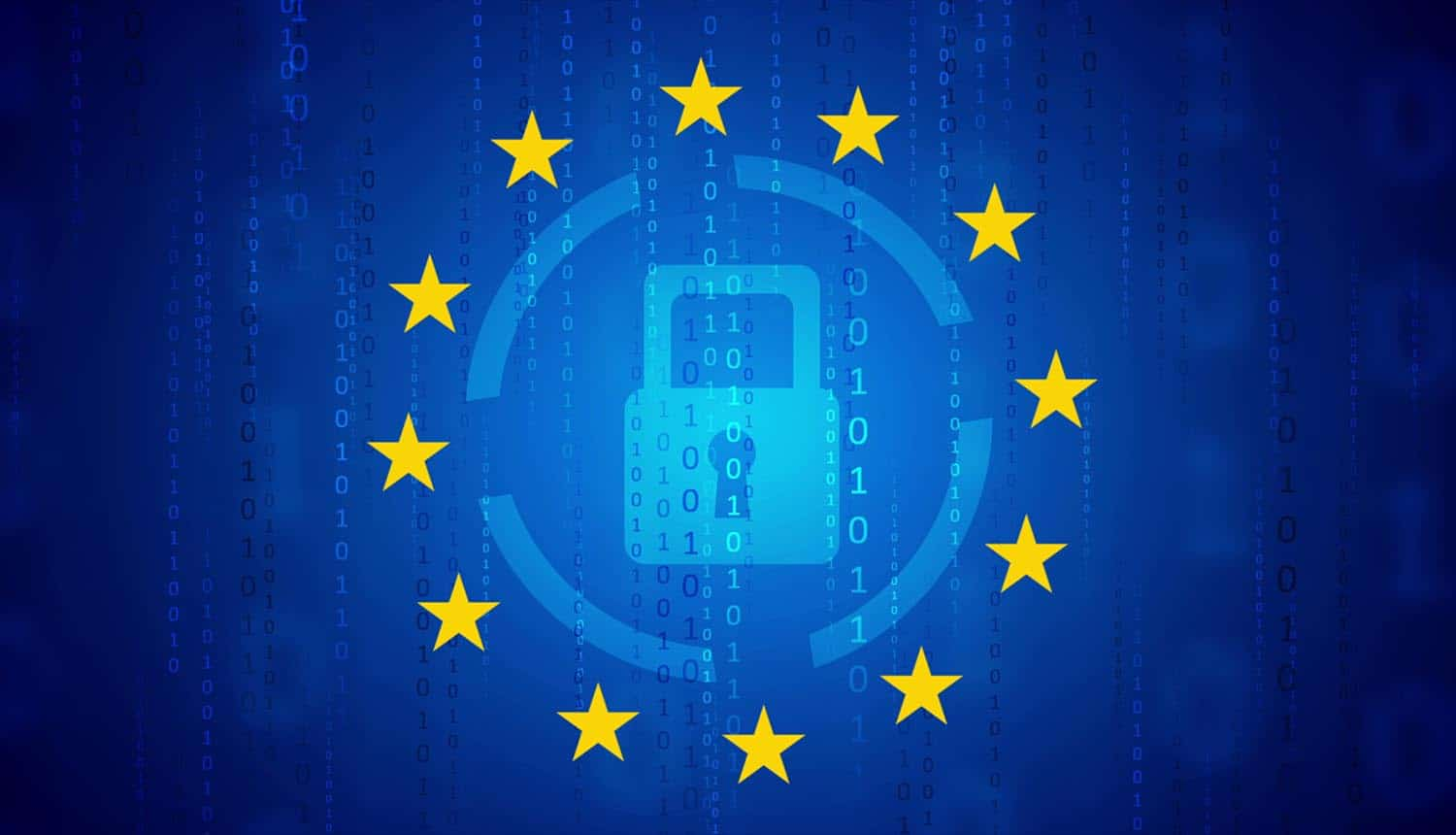 Image of data protection in the EU showing consideration for Privacy Shield to be removed and replaced with an agreement with California