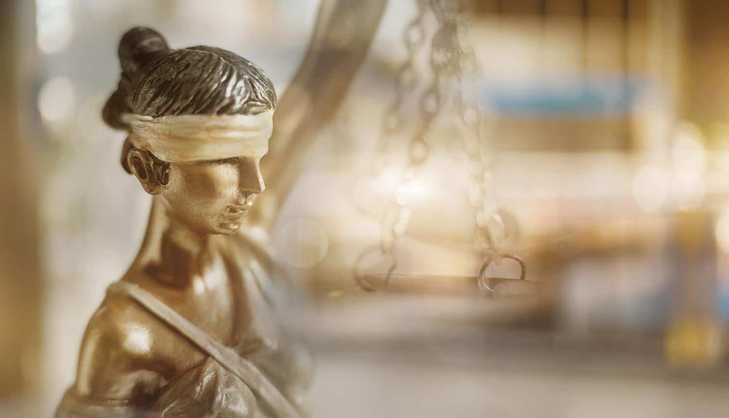 Sculpture of Themis on blurred background showing what to expect from privacy laws in 2020