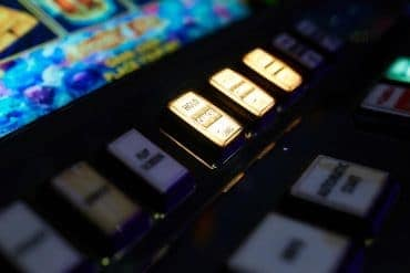 closeup of slot machine in casino showing need to ensure privacy and security for online gaming