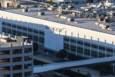SPACEX building front showing how DoppelPaymer ransomware hit major U.S. parts supplier
