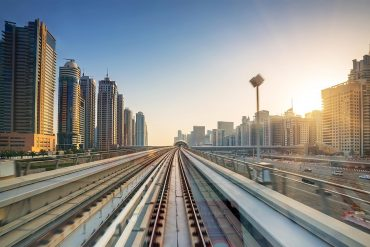 Metro line in Dubai showing MEA on verge of digital transformation fueled by government spending