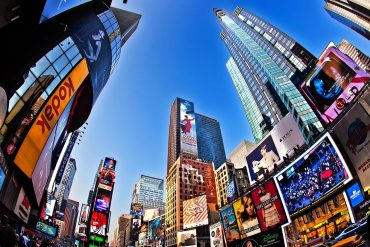 Picture of New York times square showing the requirements of data security provisions under New York SHIELD Act