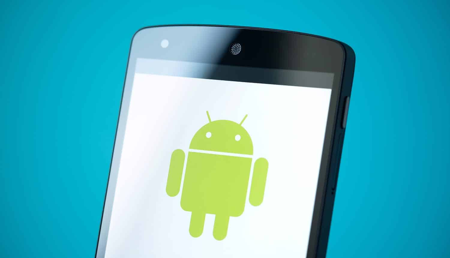 Android robot logo on mobile showing undocumented backdoor found on ten of thousands of Android apps