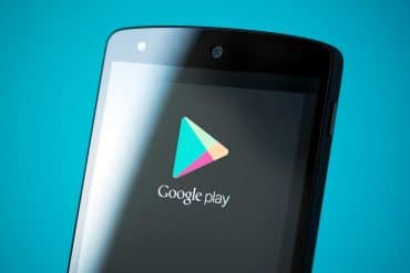 Google Play Store logo on mobile showing state-sponsored hackers pushing spyware through authorized Google Play downloads for years