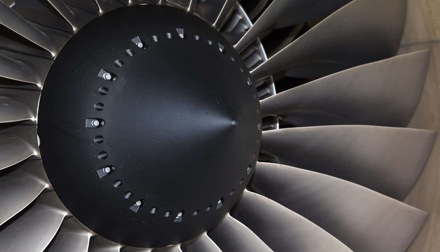Picture of jet engine showing why Chinese hackers could be behind the airline EasyJet's cyber attack