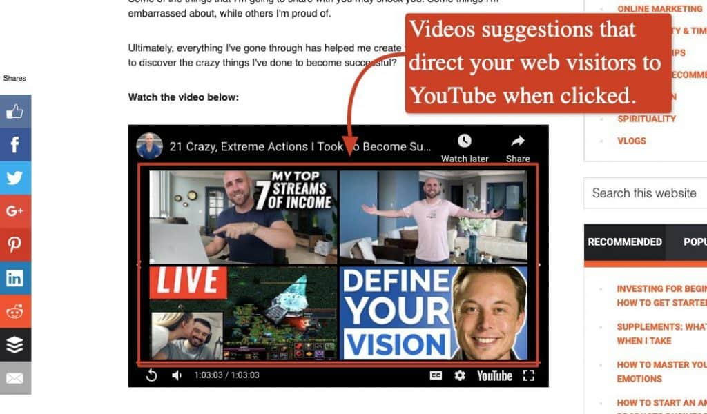 Optimize the quality of your videos