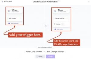 Automate project management tasks
