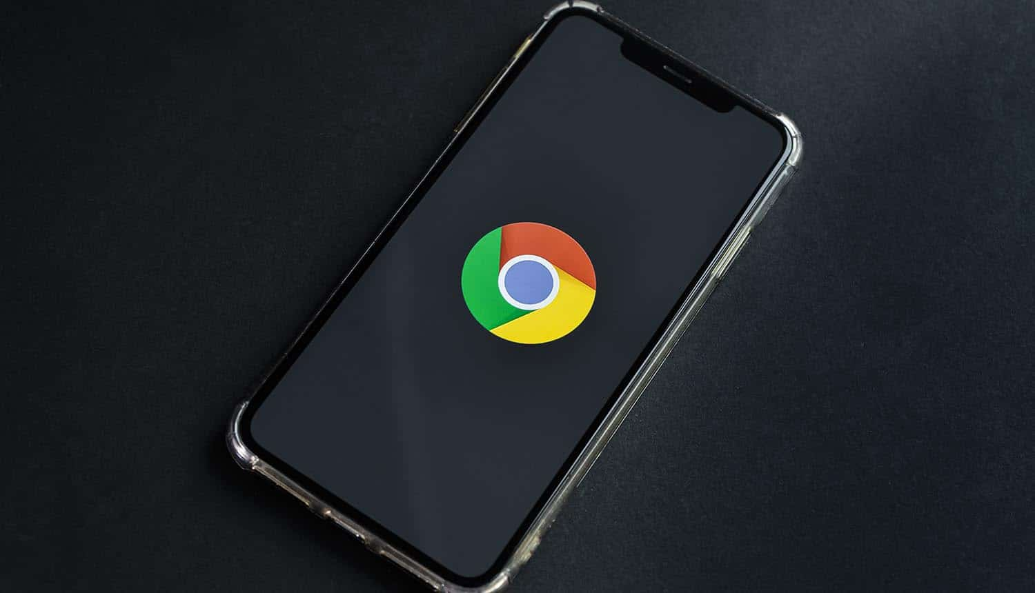 Google Chrome application icon on phone showing spyware campaign using Chrome extensions