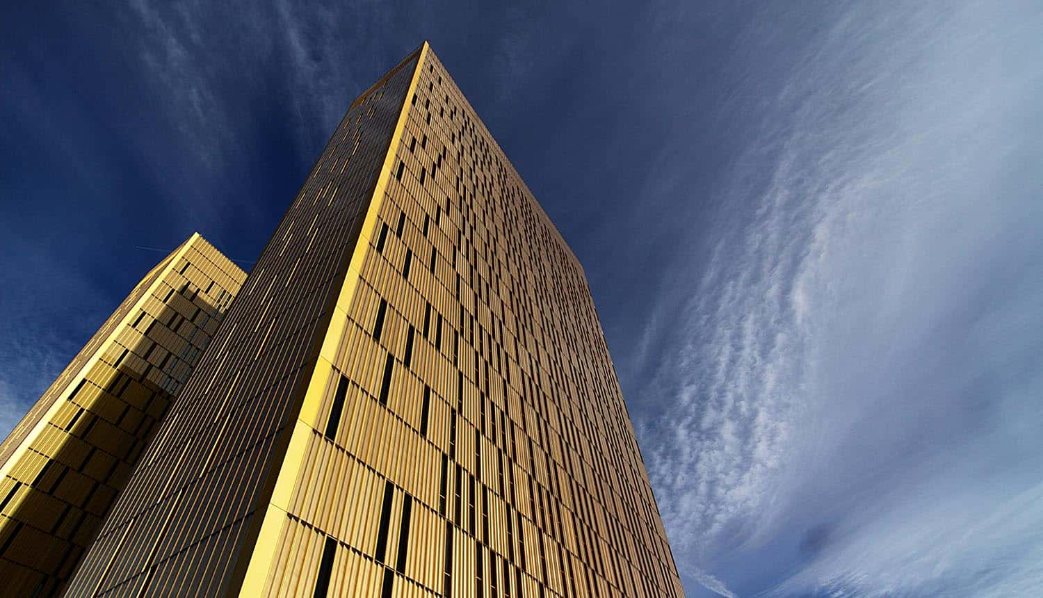 Towers of the European Court of Justice showing revoke of Privacy Shield
