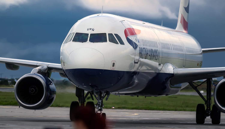 British Airways plane parked at airport showing UK ICO GDPR fine