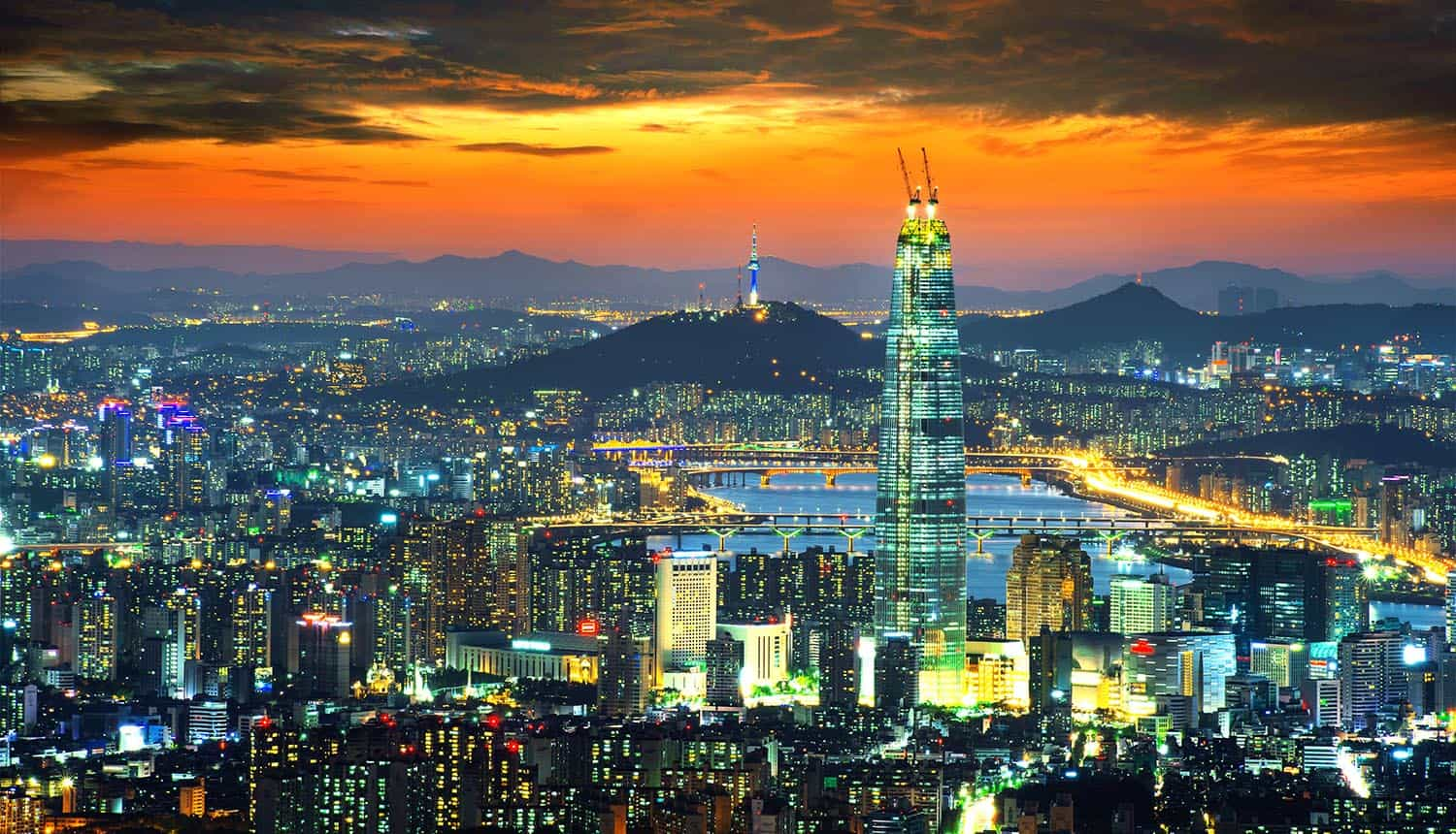 South Korea skyline of Seoul showing conflict between KYC verification and privacy laws