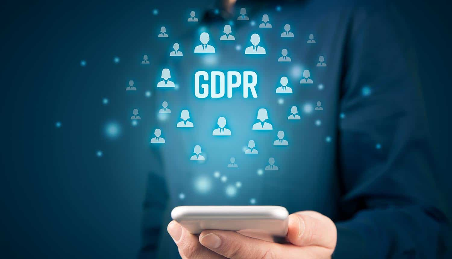 GDPR and smart phone showing UK ICO's probe into adtech and RTB