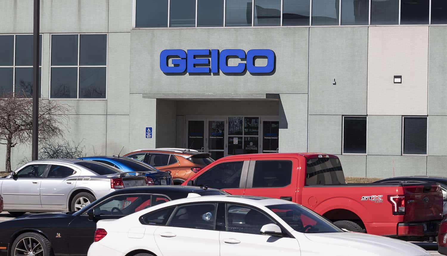 Geico Insurance office showing data breach leading to fraudulent unemployment claims