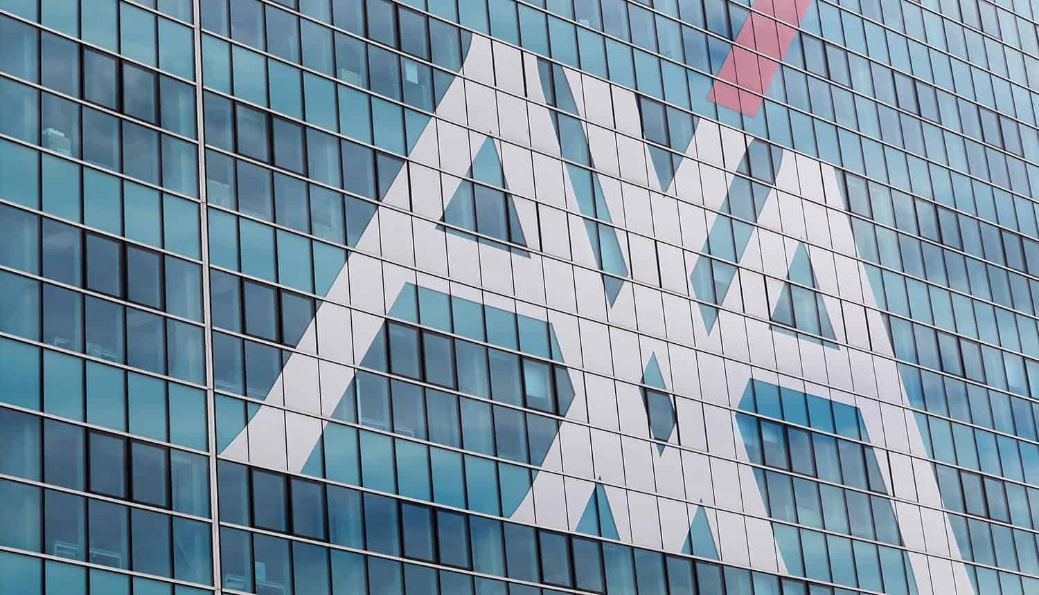AXA office building showing cyber insurance will not cover ransomware payments