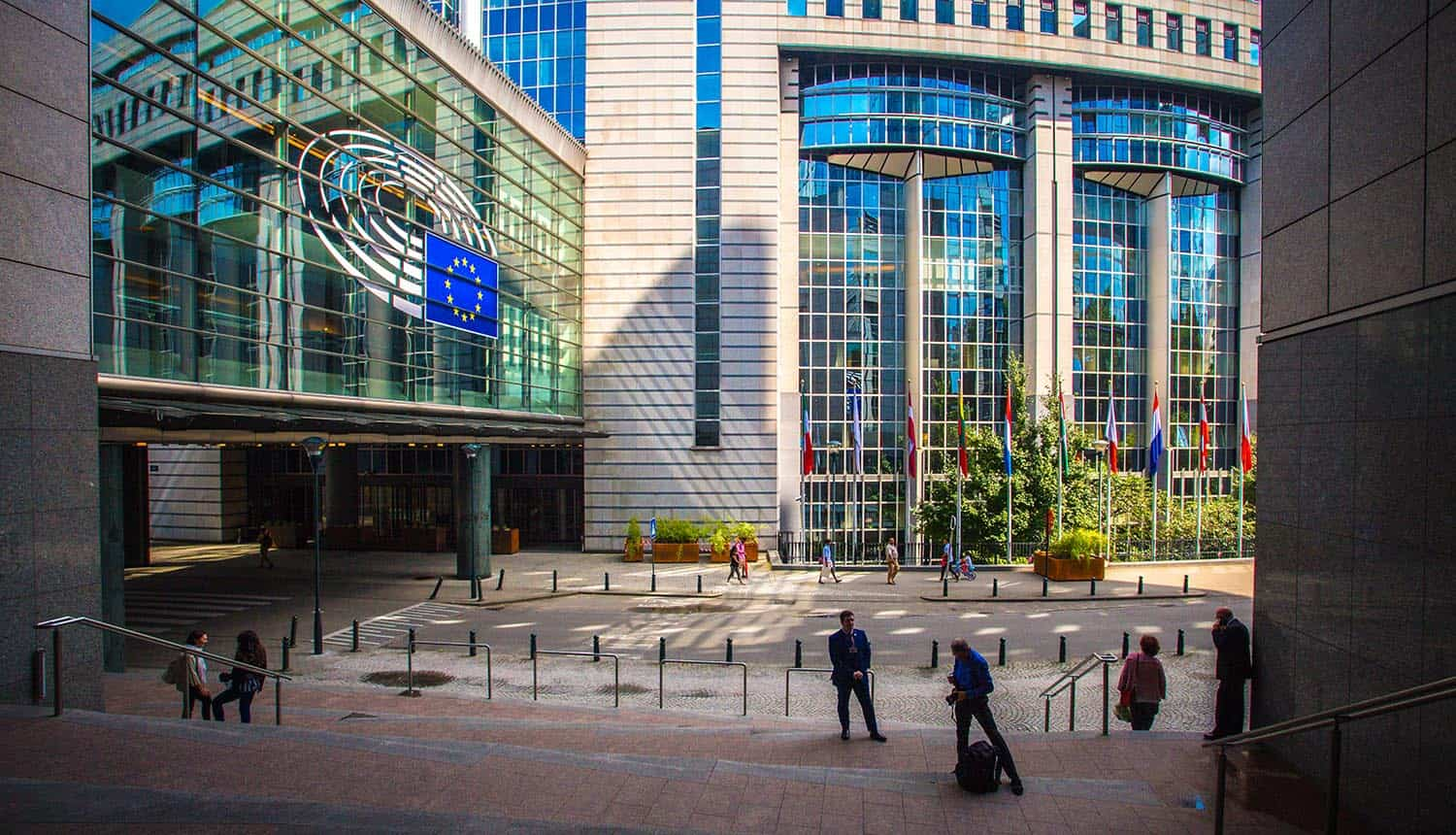European parliament exterior showing TikTok attempts to address security and privacy concerns