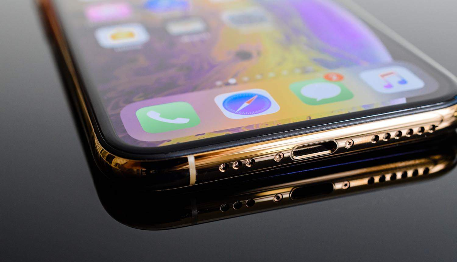 iPhone close up showing privacy update impact on digital advertising