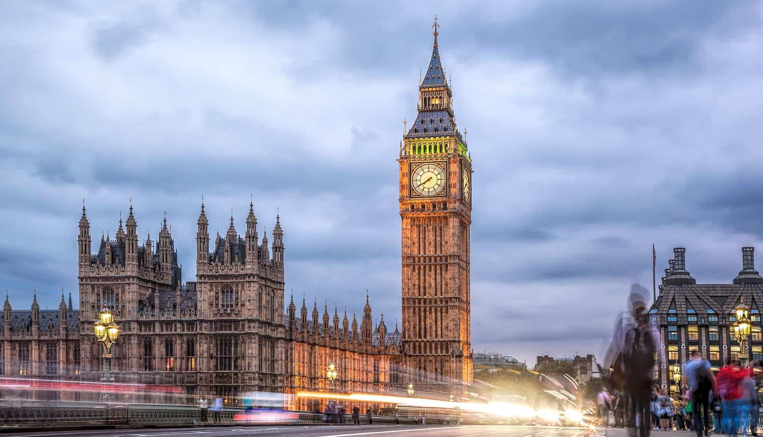 Big Ben in the evening showing UK ICO proposal for cookie popups