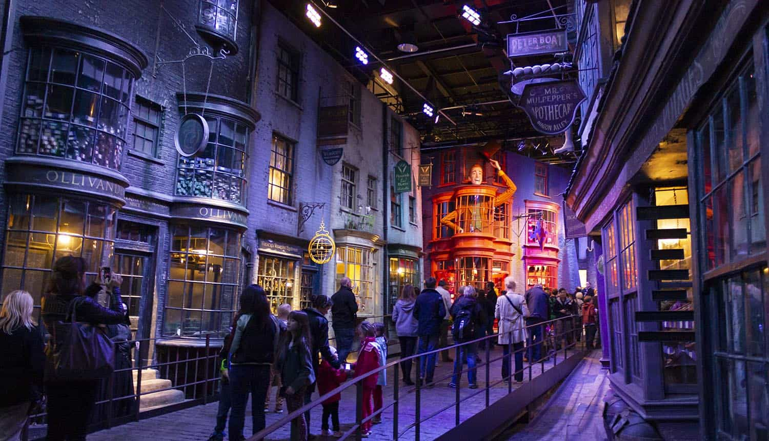 Warner Bros Studios London tour, with the sets and original material of the Harry Potter movies showing cybersecurity professionals need to address single points of failure
